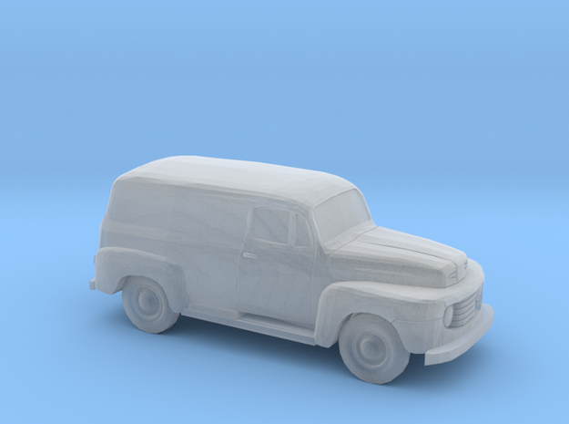 1/220 1948-50 Ford F 1 Panel Truck in Frosted Ultra Detail