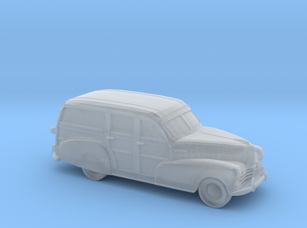 1/220 1948 chevy woody in Smooth Fine Detail Plastic