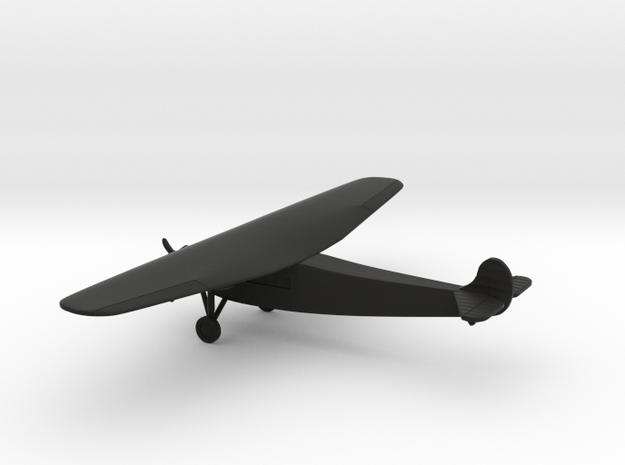 Fokker F.VIIb/3m in Black Natural Versatile Plastic: 1:200