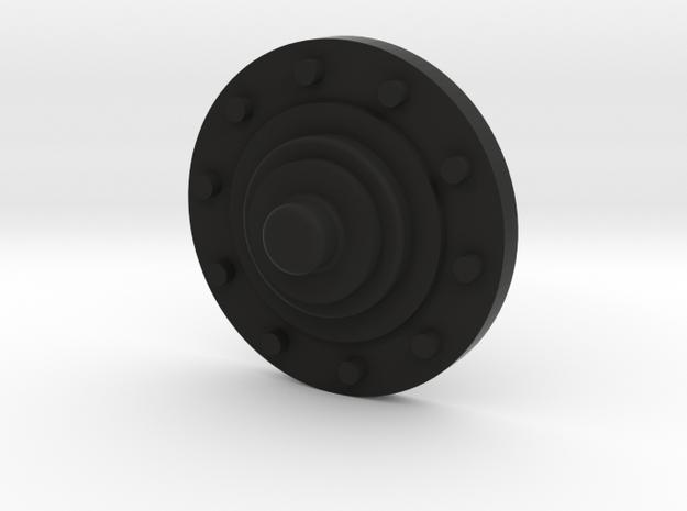 Radnabe in Black Natural Versatile Plastic