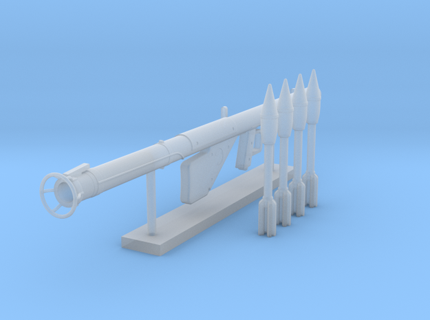 Bazooka Pack (1:18 Scale) in Smooth Fine Detail Plastic: 1:18