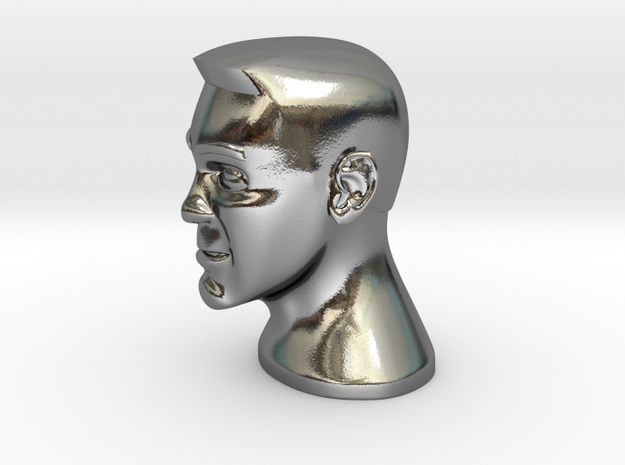 Movie Idol in Polished Silver