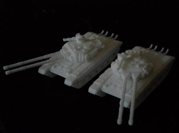 MG144-SV002A T-150 Indrik Heavy Tanks (2) 3d printed Models in WSF
