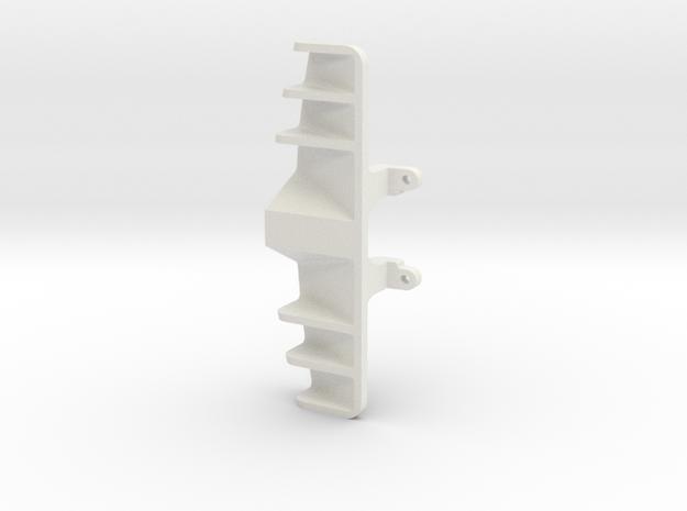 diffuseur GLA V6 for maclaren 12C GT3 & mac P1 in White Natural Versatile Plastic