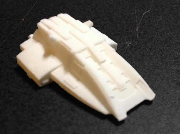 Kal'Ger Pursuit Special MicroMachine Scale in White Natural Versatile Plastic