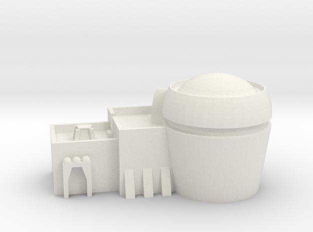 Defensive Lodging 4 in White Natural Versatile Plastic