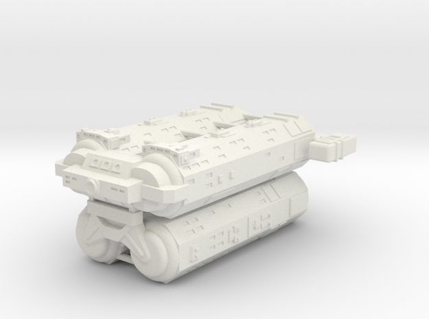 Omni Scale General Heavy Auxiliary Cruiser (Stack) in White Natural Versatile Plastic