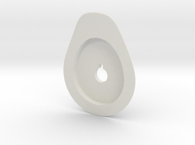 Star Trek 1/537 B/C Deck Refit in White Natural Versatile Plastic