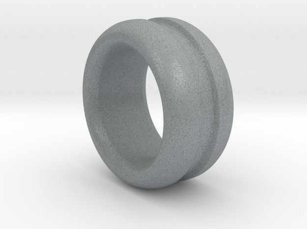 Curved Chunky Ring in Polished Metallic Plastic: 7 / 54