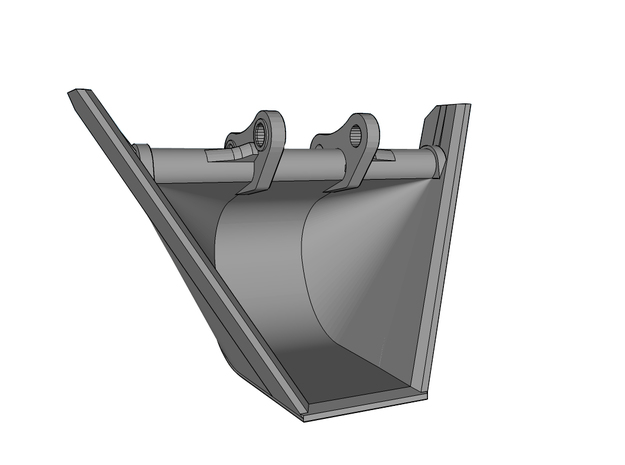 "HO - Bucket ""V"" shape for 20-25t excavators"