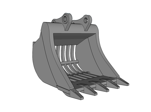 "HO - Bucket ""Skeleton"" for 20-25t excavators"