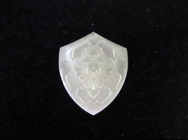 Royal Shield I 3d printed Frosted Ultra Detail