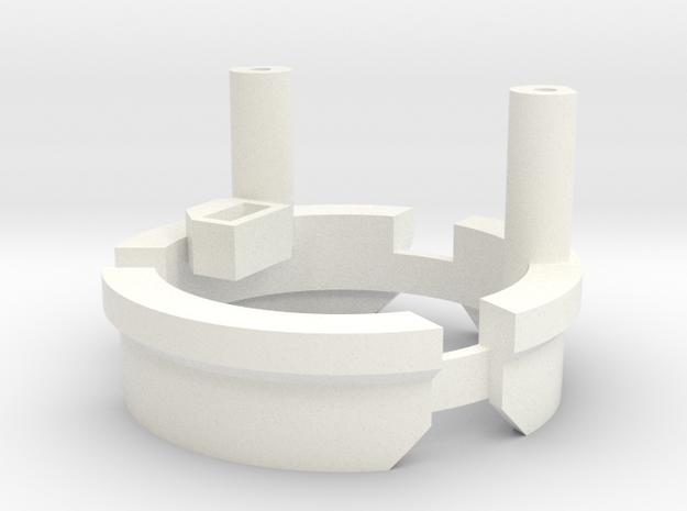 DV6 - Part (6/7) Speakerholder in White Processed Versatile Plastic