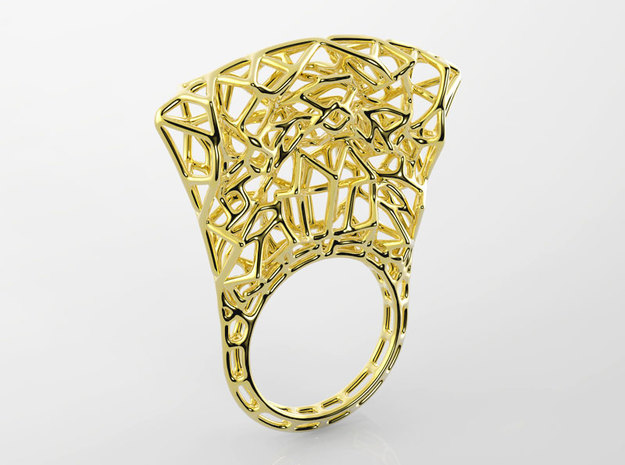 Thrones_ring size 6.25 3d printed