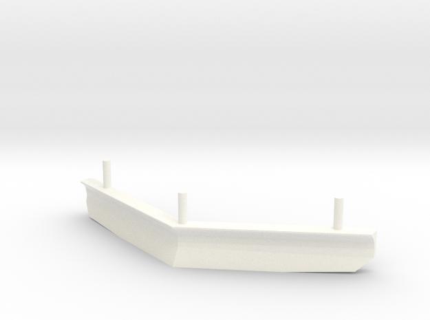 Flirt  Scale 0 Schneefang in White Processed Versatile Plastic