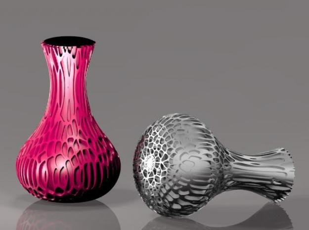 Organovase Organic Vase 3d printed Description