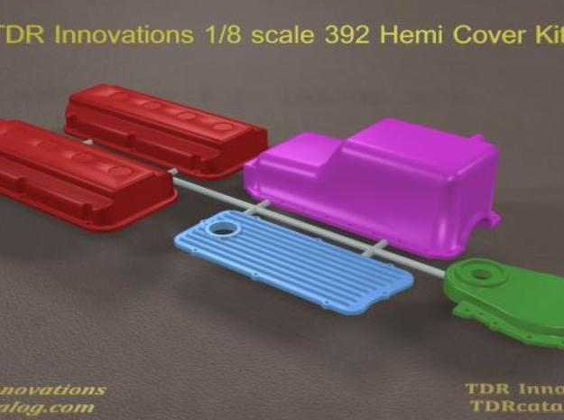 392 Hemi Covers Parts Kit in White Natural Versatile Plastic
