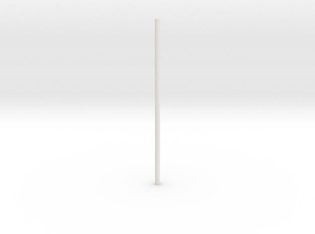 Glider_body - rod-1 in White Natural Versatile Plastic