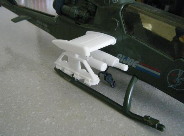 Dragonfly/Locust Mine Launcher w/Mines 3d printed Description
