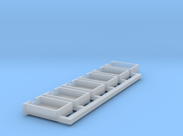 O scale drawers in Smoothest Fine Detail Plastic