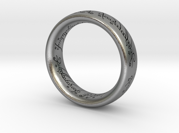 ring_SizeM in Natural Silver: 3 / 44