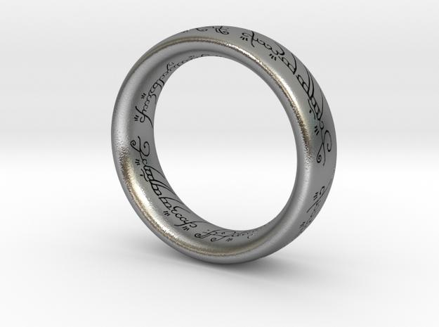 ring_SizeM in Raw Silver: 3 / 44