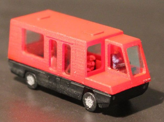Steyr Citybus in Smooth Fine Detail Plastic
