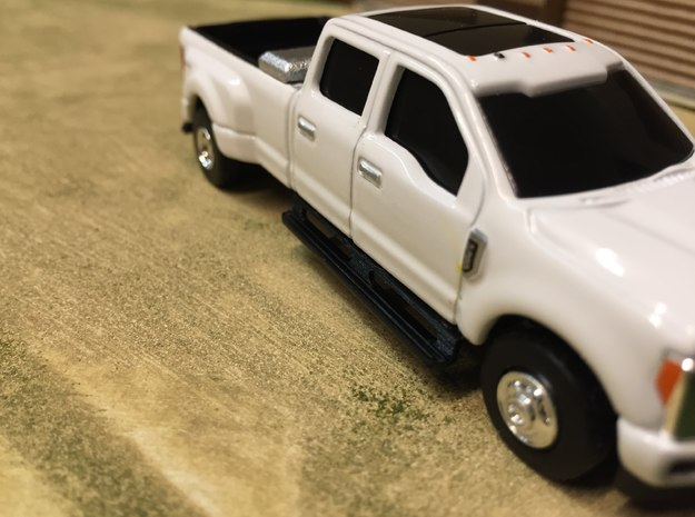 2017 ERTL F350 RUNNINGBOARDS in Smooth Fine Detail Plastic
