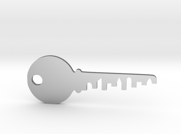 Key-to-the-City in Premium Silver