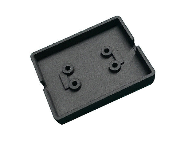 Cover for Cinetape Serial Interface Box in Black Natural Versatile Plastic