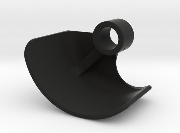 Boosted Fender [Set part 4 of 4] Front-LEFT-V2.0 in Black Strong & Flexible