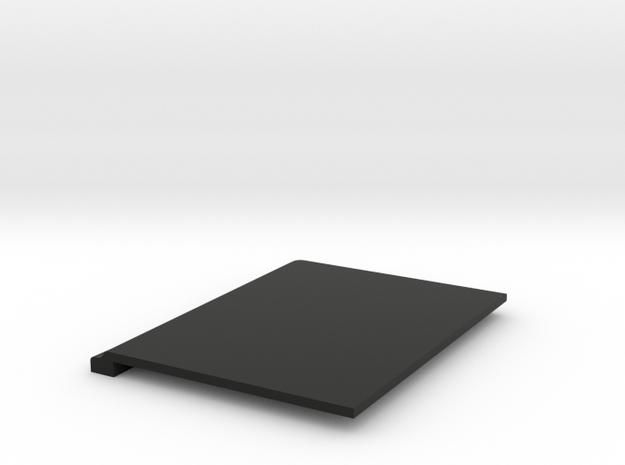 JK Left Seat Adapter - Flat in Black Natural Versatile Plastic