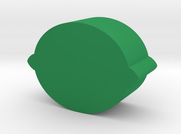 Citrus Game Piece in Green Processed Versatile Plastic