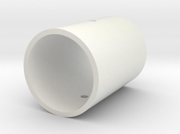 Kyberlight Emitter Head in White Natural Versatile Plastic