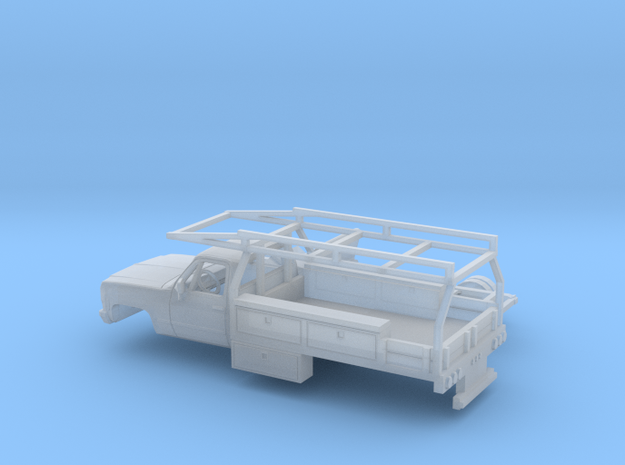 1/160 1979 Chevy CK Series RegCab Contractor Kit in Smooth Fine Detail Plastic