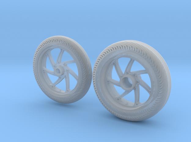 Rims & tires MotoGP 1/12 - Front & Rear