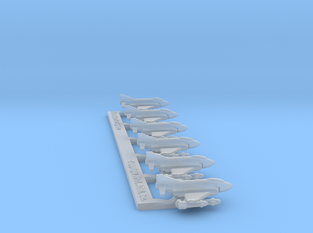 """Omni Scale Federation F-4 """"Phantom"""" Fighters MGL in Smooth Fine Detail Plastic"""
