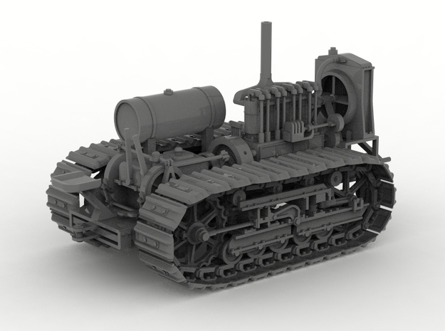 "Dozer - 1920's 45 h.p. crawler 20"" tracks"
