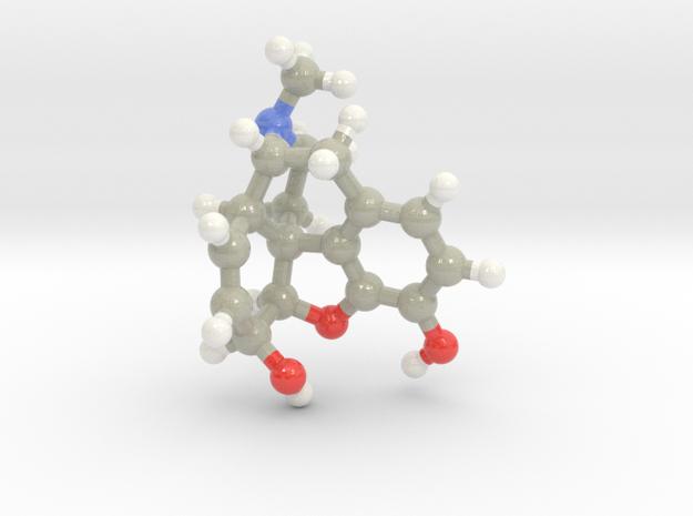 Morphine in Glossy Full Color Sandstone