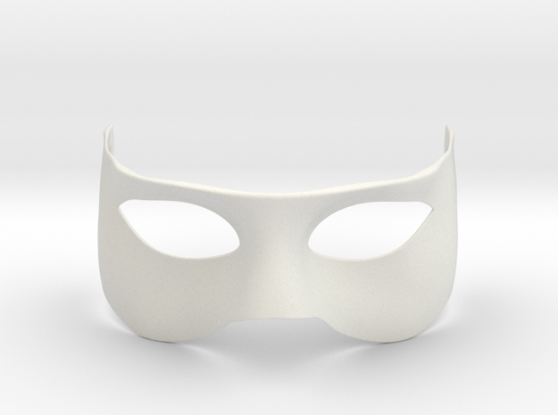 Simple mask in White Natural Versatile Plastic