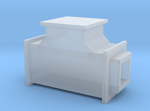 1/64 Drag Conveyor Pass Thru Flat in Smooth Fine Detail Plastic