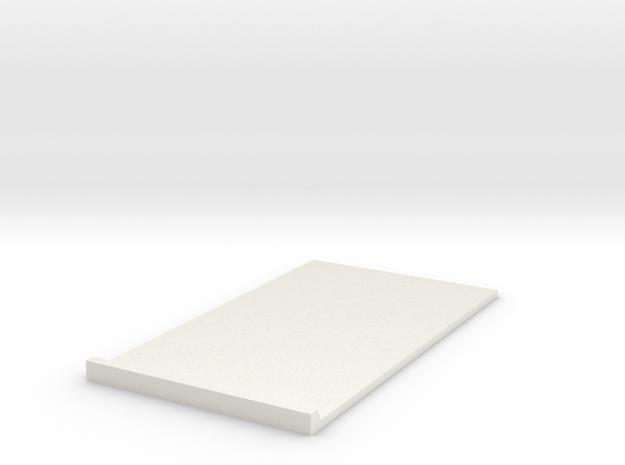 BOX-1B in White Natural Versatile Plastic