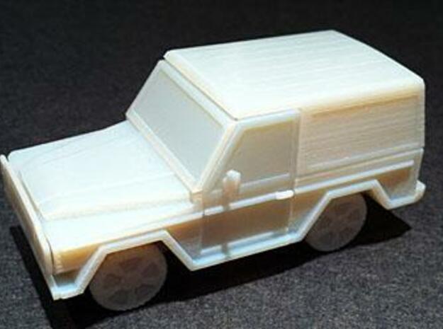Mercedes Truck (1/56th) 3d printed