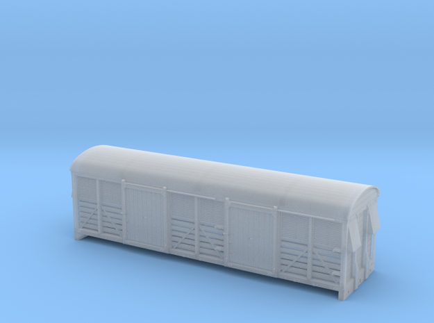 LMS 6 Wheel Milk Van body slat sides - 2mm scale (