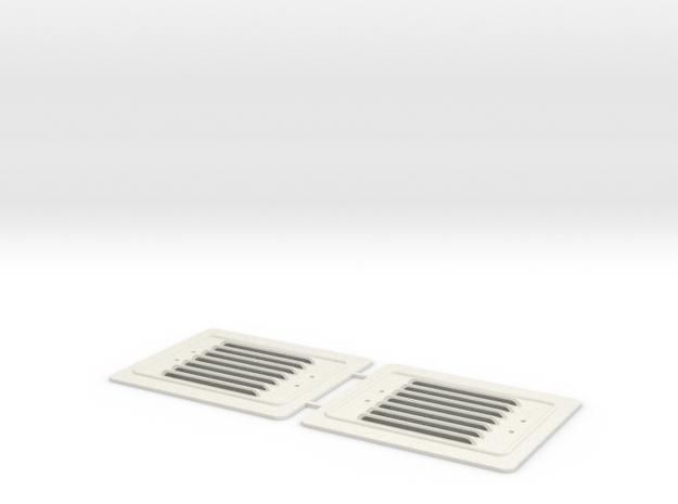 1:13,3 Seitenklappen LKM NS1 in White Natural Versatile Plastic