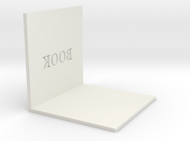 106102112高旻瑞  書架 in White Natural Versatile Plastic