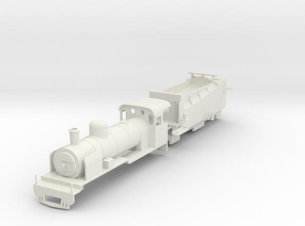 BM7-009A SAR NG15 No.NG124 Apple Express On30 in White Natural Versatile Plastic
