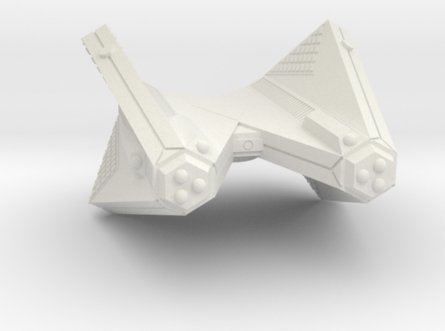 3125 Scale Tholian Phaser Heavy Cruiser (CPA) SRZ in White Natural Versatile Plastic