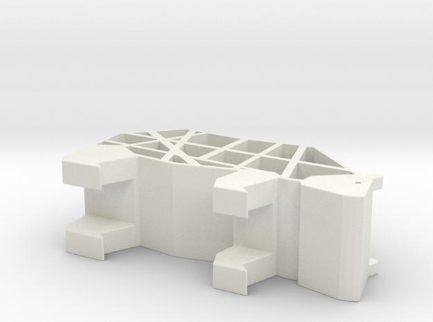 Empty polar bear in White Natural Versatile Plastic