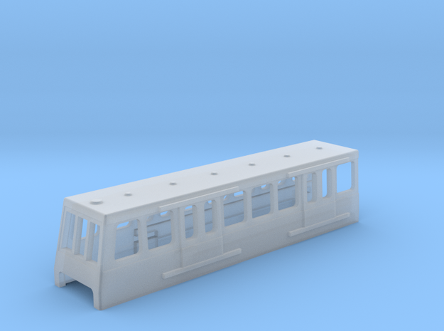 N Gauge DLR in Smooth Fine Detail Plastic